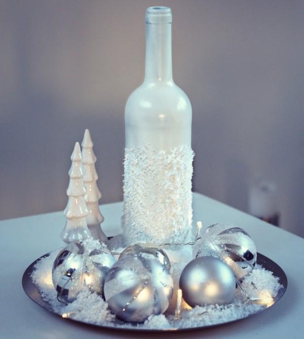 40 Ideen Fr DIY Weihnachtsdekoration Aus Glasflaschen