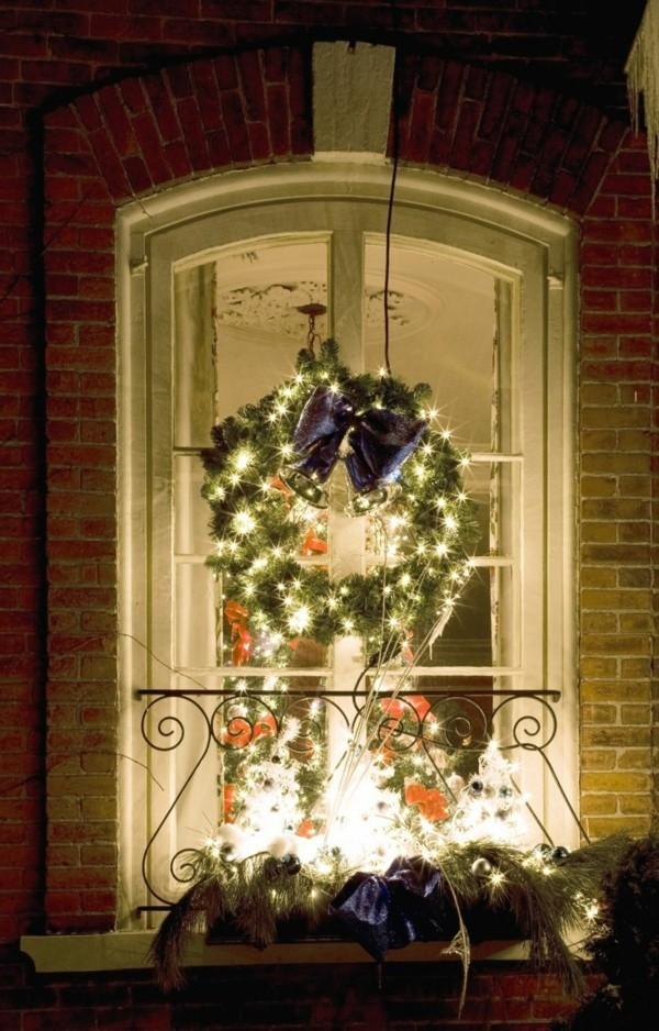 Fensterdeko Weihnachten Tolle Und Einfache Last Minute Ideen