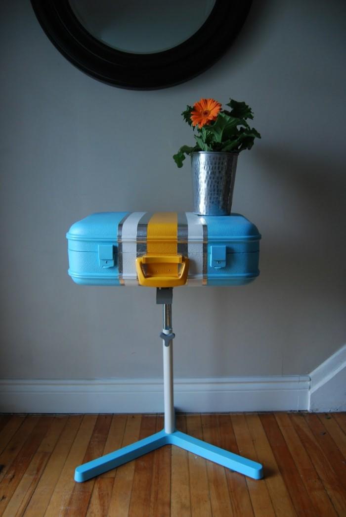 ▷ 27 Ideen, wie man den alten Koffer wieder benutzen kann