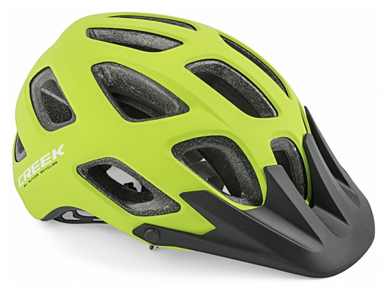 kask creek zielony