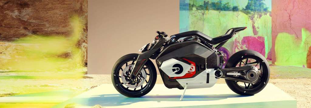 BMW electric motorcycle