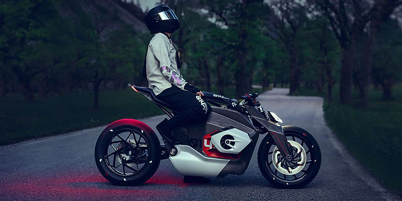 BMW's Latest  Patent Reveals A Shaft-Drive Electric Motorcycle