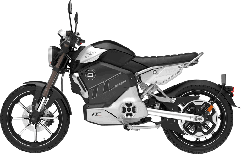 Super Soco TC MAX - Electric Motorcycle Review - ÆM - All