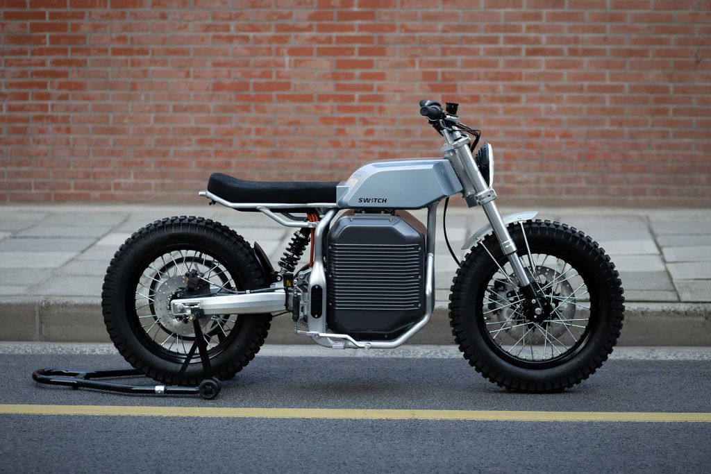 Switch Motorcycles eSCRAMBLER  electric motorcycle