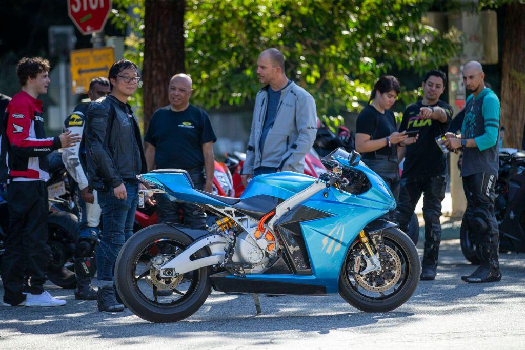 Lightning Strike Carbon Electric Motorcycle