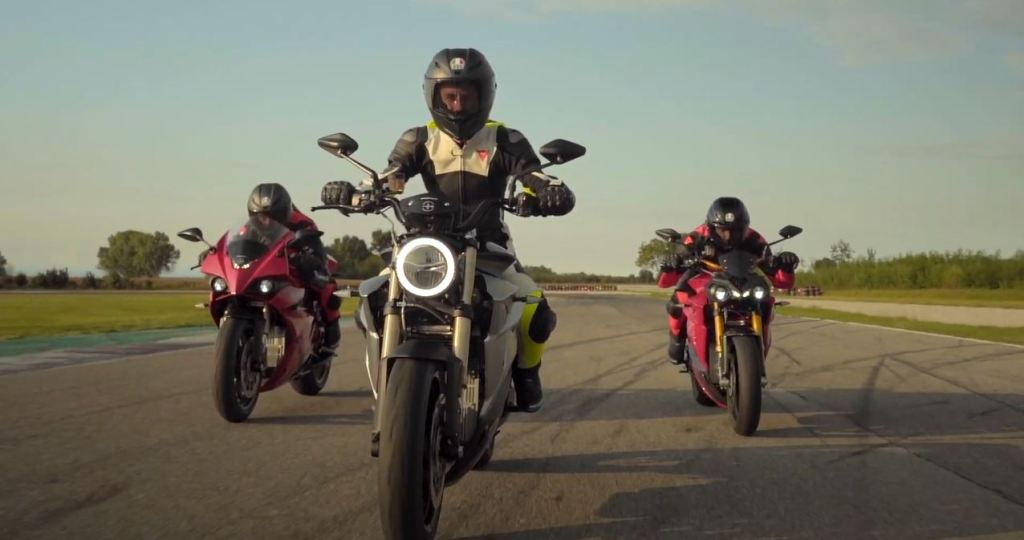Energica RS Version Electric motorcycle
