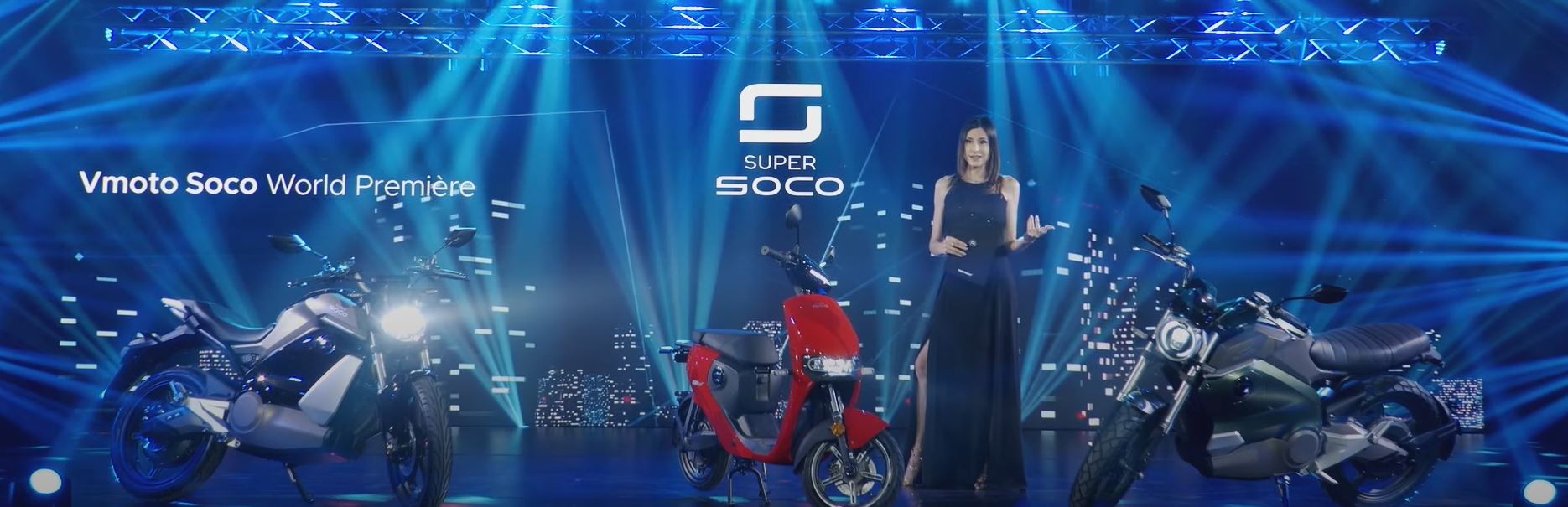 VMoto Super Soco 2021 Premier – the TS Street Hunter, TC Wanderer and CUmini
