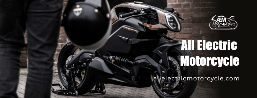 AEM, electric motorcycle, banner