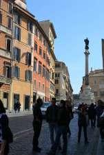 The Piazza di Spagna