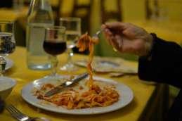 Delicious fresh pasta