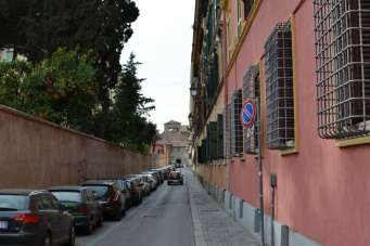 Typical street in Rome