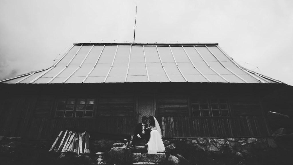 Sesja ślubna dolina pięciu stawów