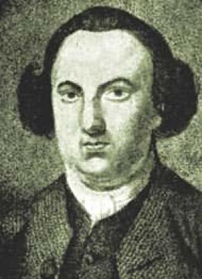 Picture of Christopher Smart, poet and author of