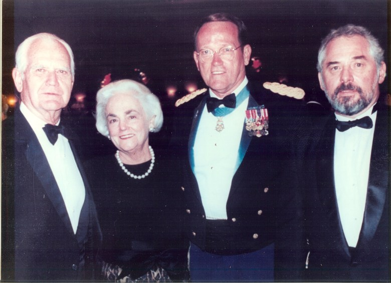 General William C. and Mrs Kitsy Westmoreland