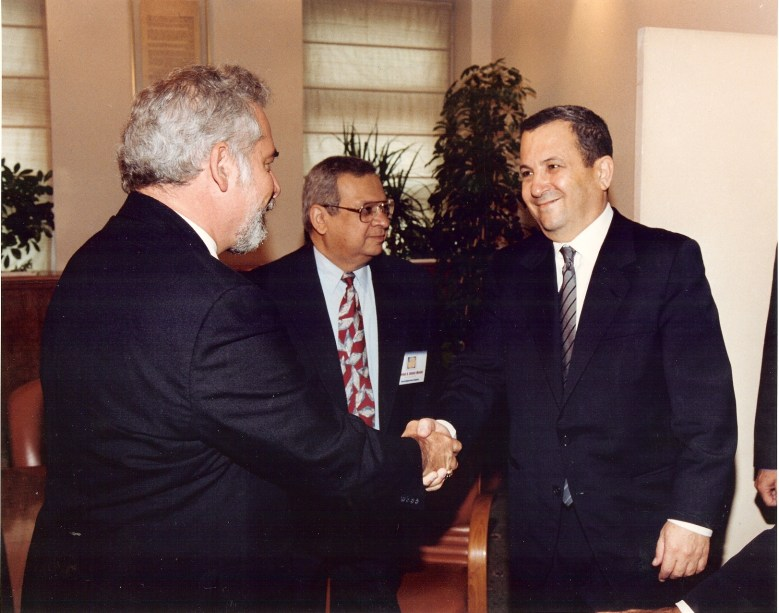 Ehub Barak of Israel