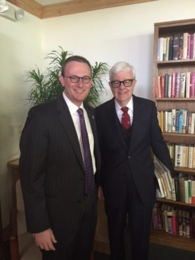 With Historian and Economist Gary North
