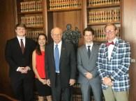 Coke Fellows in CJ Parker's Office