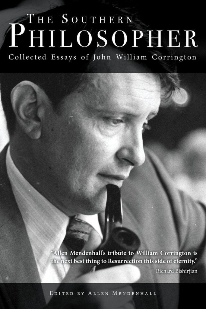 Book Cover: The Southern Philosopher. Editor Allen Mendenhall