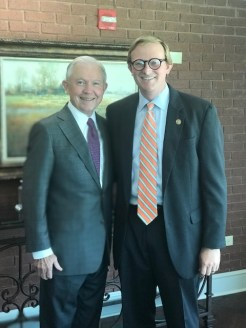 With Jeff Sessions