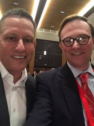 With Peter Thiel