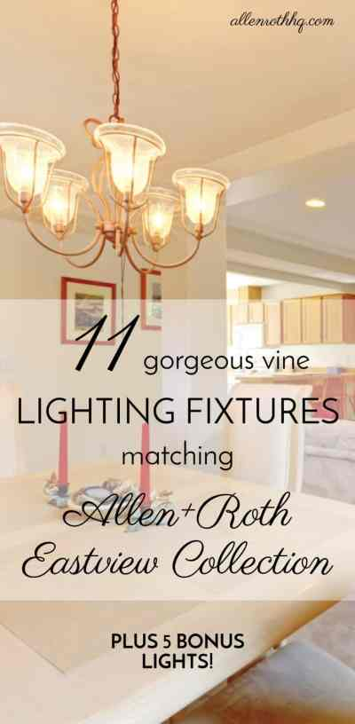 11 Stunning Lights That Match Allen Roth Eastview Lighting