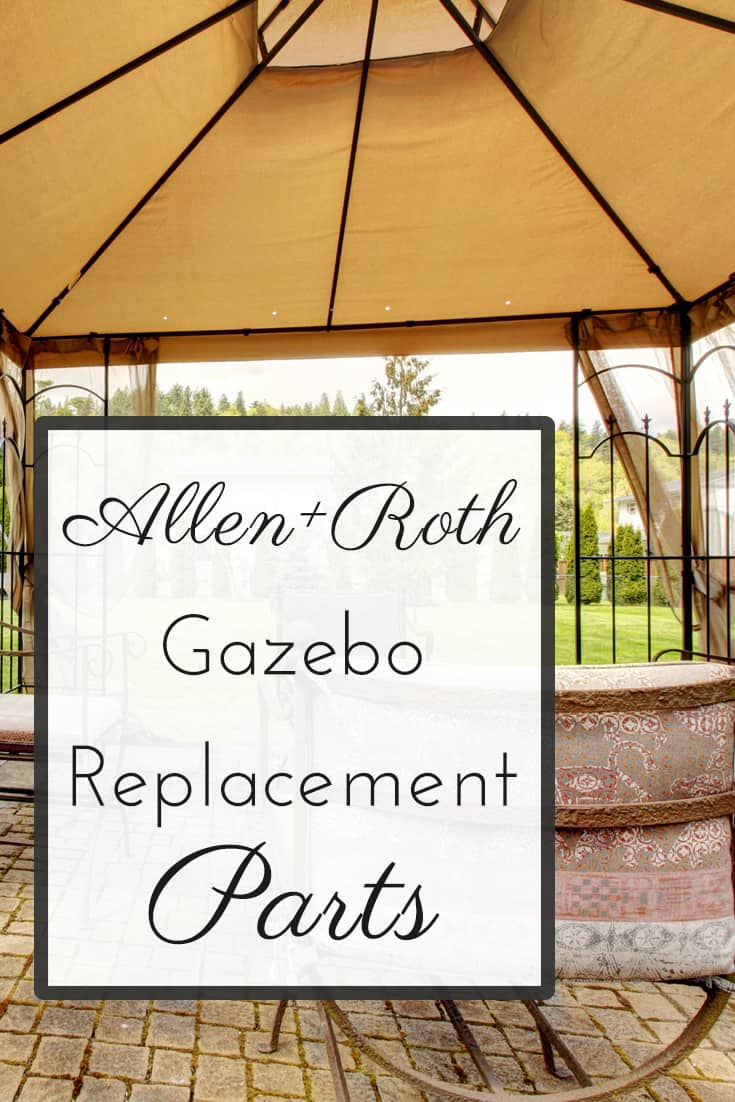 Allen Roth Gazebo And Pergola Replacement Parts Full List