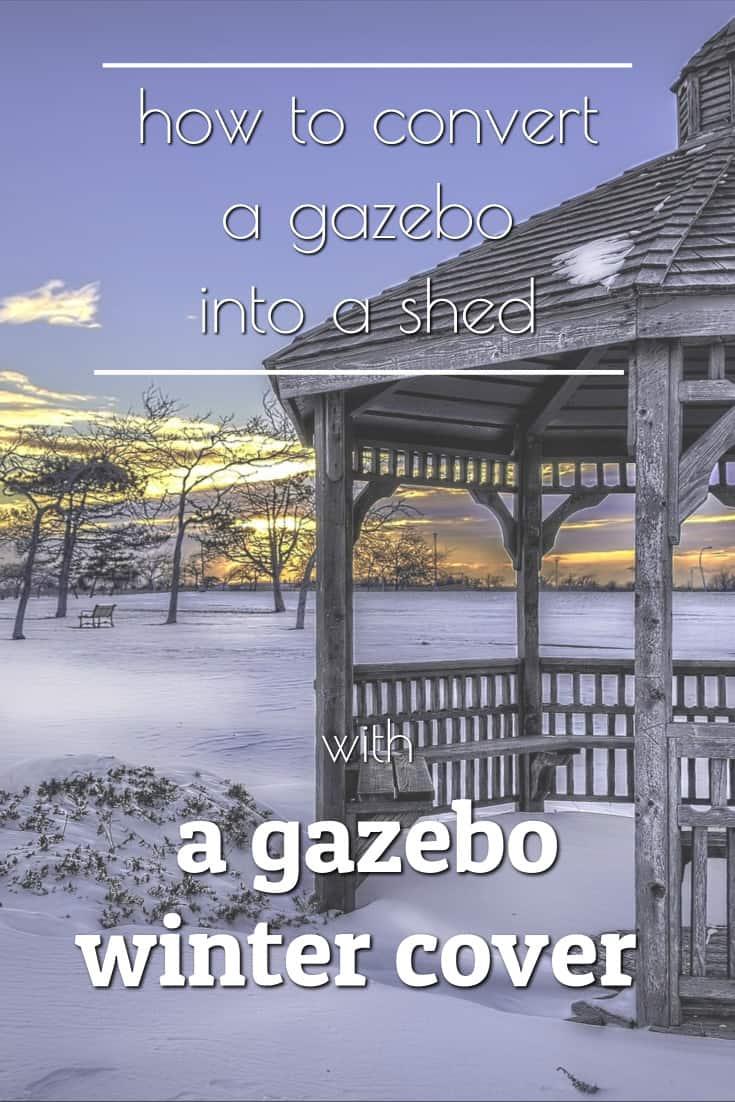 gazebo winter cover