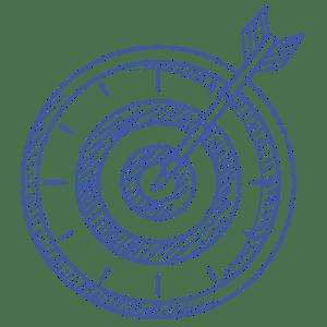 sketch of target