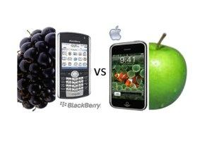Apple v Blackberry branding wars