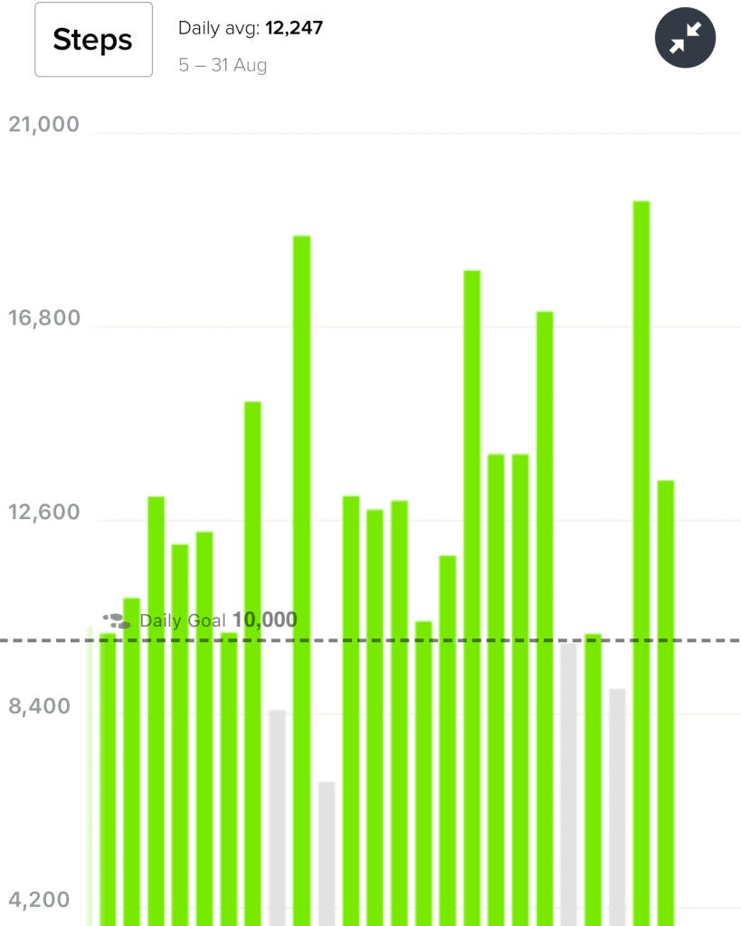 ATS - August Monthly Steps