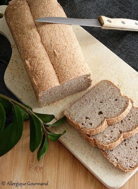 pain magique protéiné sans gluten sans levure sans levain