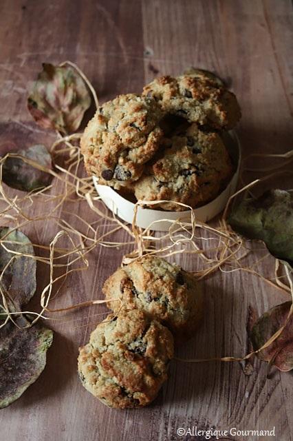 cookies sans gluten sans lait sans oeufs