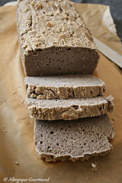 pain au sarrasin sans gluten