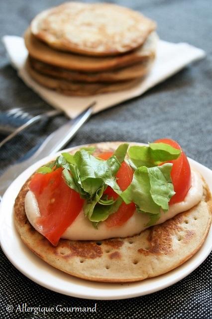 pancakes à la ricotta sans gluten sans lait sans oeufs