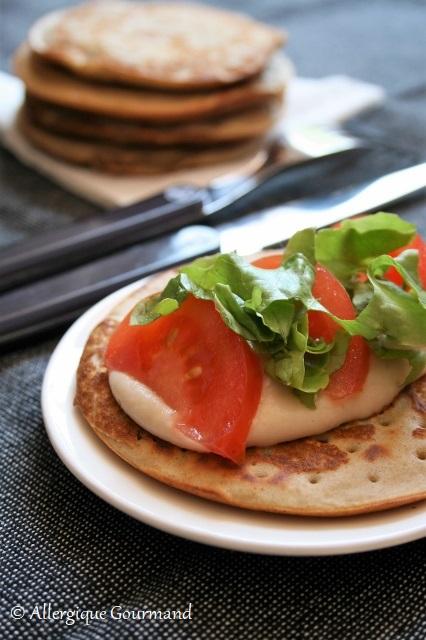 pancakes à la ricotta sans gluten sans lait sans œufs