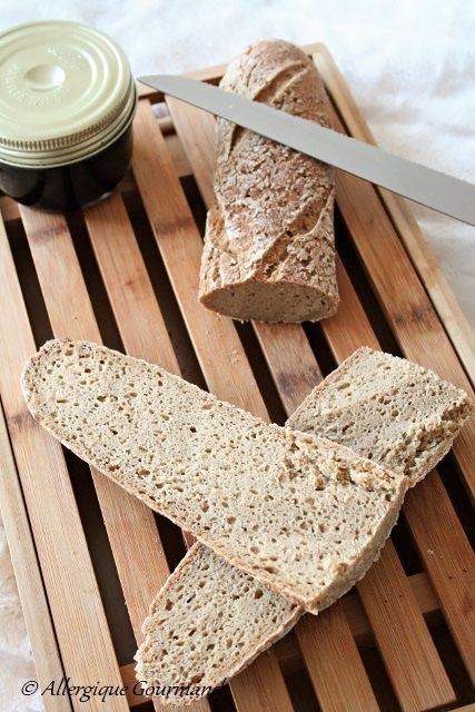 pain au levain et levain sans gluten