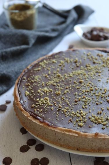 tarte banane chocolat sans gluten sans lait sans oeufs