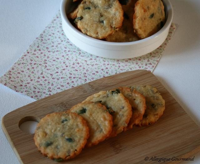 biscuits aux graines parmesan sans gluten sans oeufs