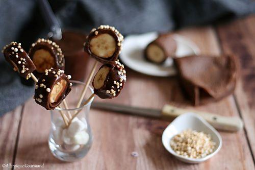 Crêpes cacao coco bananes