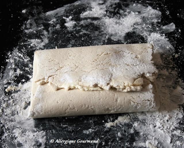 pâte feuilletée sans gluten sans lait sans oeufs