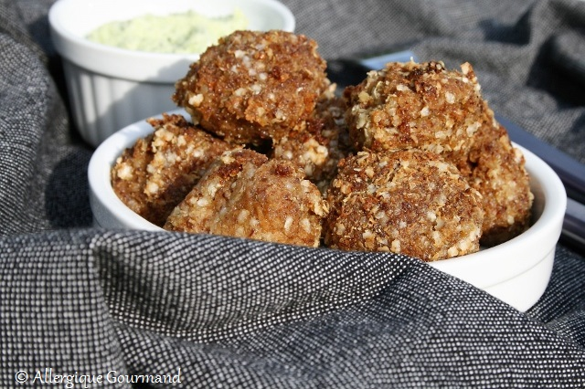 Boulettes de quinoa lentillons