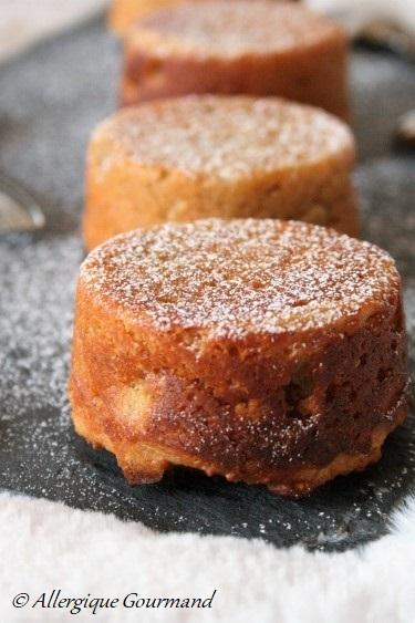 Petits gâteaux ricotta citron bergamote