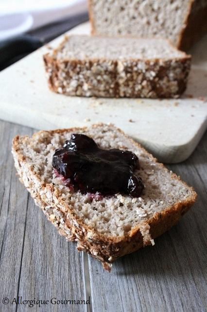 pain de mie sans gluten sans lait sans oeufs