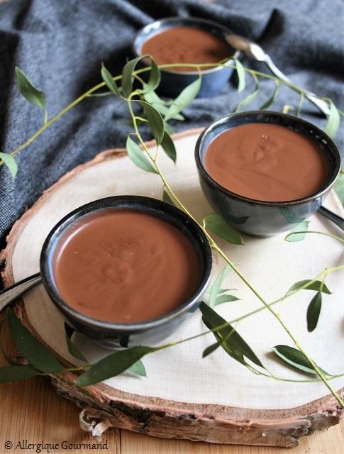 Crème chocolat au potimarron sans gluten sans lait sans oeufs