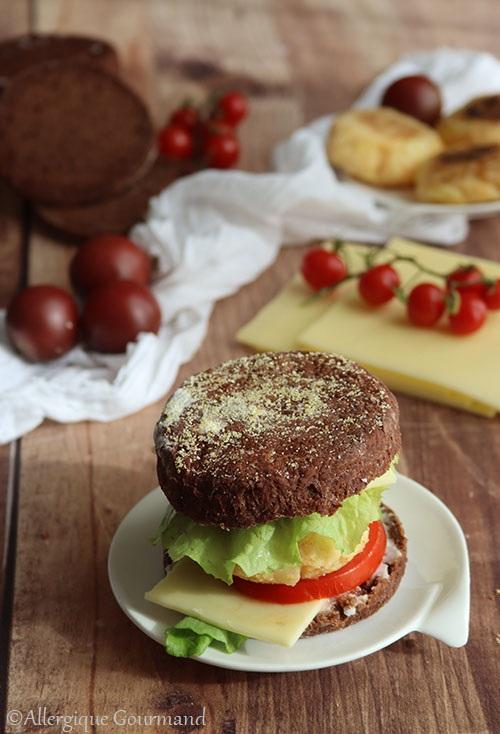 muffins anglais au cacao sans gluten sans lait sans oeufs