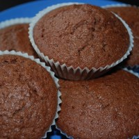 Mjölk- och äggfria Chokladmuffins
