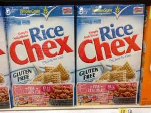 rice cereal allergy
