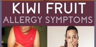 kiwi fruit allergy symptoms