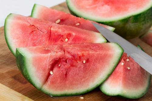 watermelon allergy