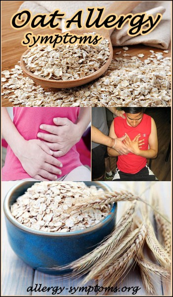 oat allergy symptoms